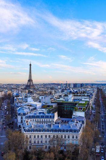 Paris Eiffel Tower Tour Eiffel Cityscapes