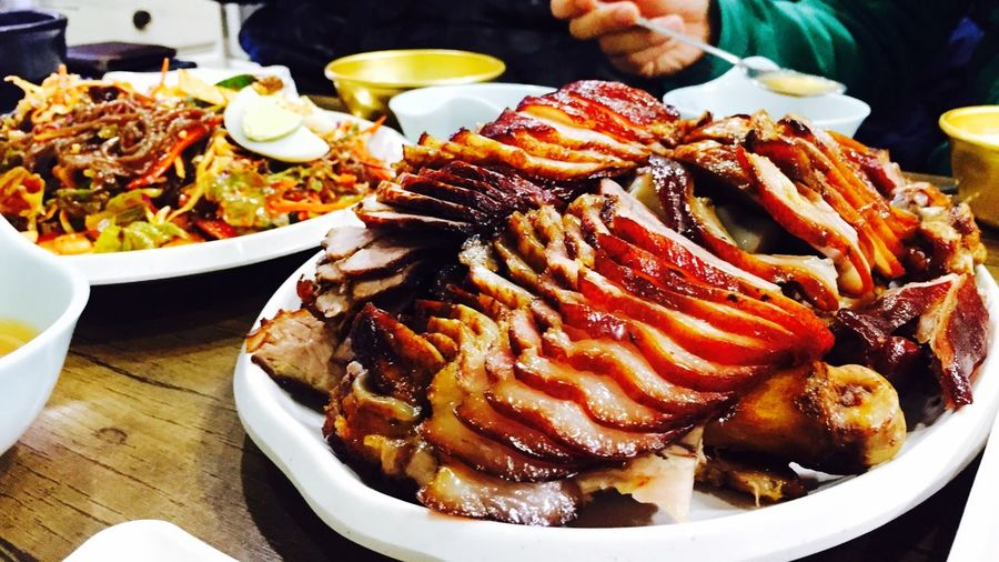 2015 01 07 Pigs' Feet Korean Food Postexertional