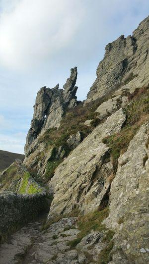 Nationaltrust Texture Rocks Seaside Devon Autumn Autumn Colors