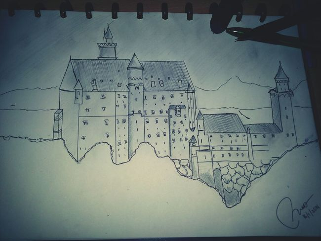 such a fail castle:( My Drawing The Castle Epic Fail