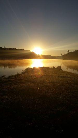 Relaxing Taking Photos Check This Out Enjoying Life Pretty♡ Picturejunkie Eyemnaturelover Nofilternoedit At The Lake Iowa Sunrisephotography