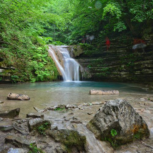 Sinop Erfelek Erfelektatlıcaşelaleri Nature Waterfall Selale Motion Flowing Water Power In Nature Stream - Flowing Water Falling Water