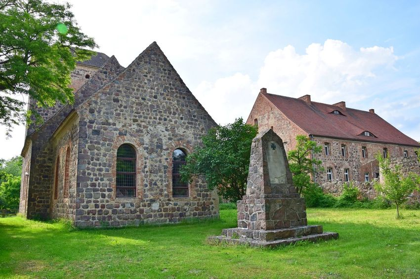 Badingen (Gransee, Zehdenick) Brick Building Church Ensemble Fieldstone Historical Building Monument No People Outdoors Rural Scene Tranquility Village