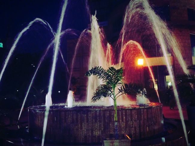 When beauty of water and light meets....Night Water Fountain Beautiful View Nightphotography Night Life Nightshot The Week On EyeEm EyeEmNewHere