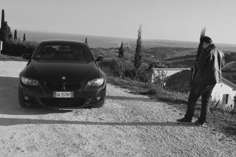 Me&my BIMA Bmw E92 Coupè 3series Bmwitalia Bmwdeutschland Bmwusa Bmw Car Bmwlove 3000cc 325i 6L Msport Sea And Sky Rivieradelconero Marche Italy