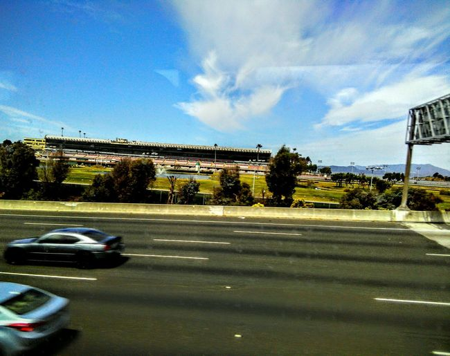 Feel The Journey Mein Automoment Motion Blur Motion Photography EyeEm Best Shots - Landscape Architectural Detail Highway Photography View From The Bus Window Freeway Scenery Buildings Architecture Golden Gate Fields Reflection On Car Highway 80 Fun With Photography
