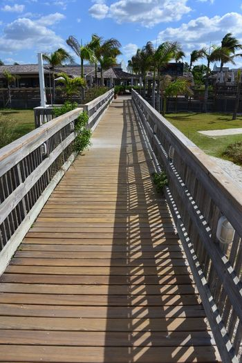 St Pete Beach Florida. Cloud - Sky Wood - Material Outdoors The Way Forward Day Sky Shadow Footbridge Tree No People