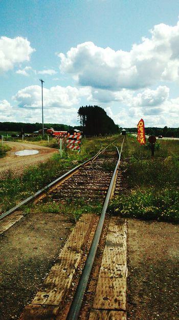 Rail Road Train Tracks Train Station