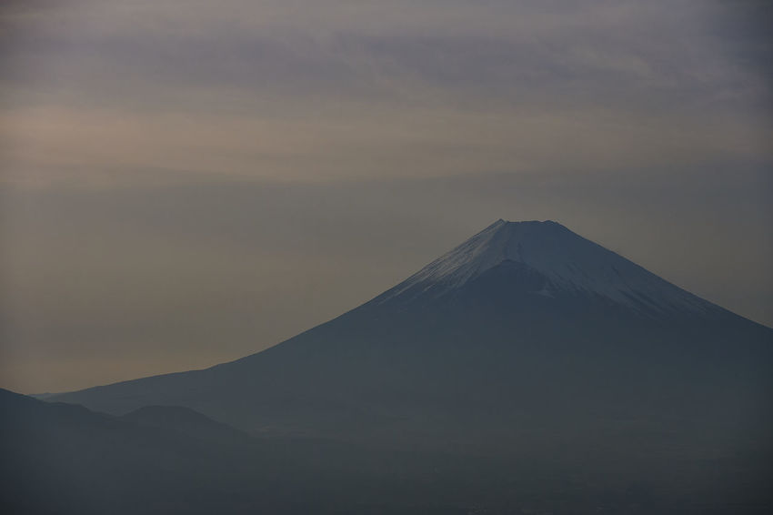 Fujisan Beauty In Nature Cloud - Sky Environment Fuji Fujimountain Idyllic Landscape Mountain Mountain Peak Nature No People Non-urban Scene Scenics - Nature Sky Snowcapped Mountain Sunset Tourism Tranquil Scene Tranquility