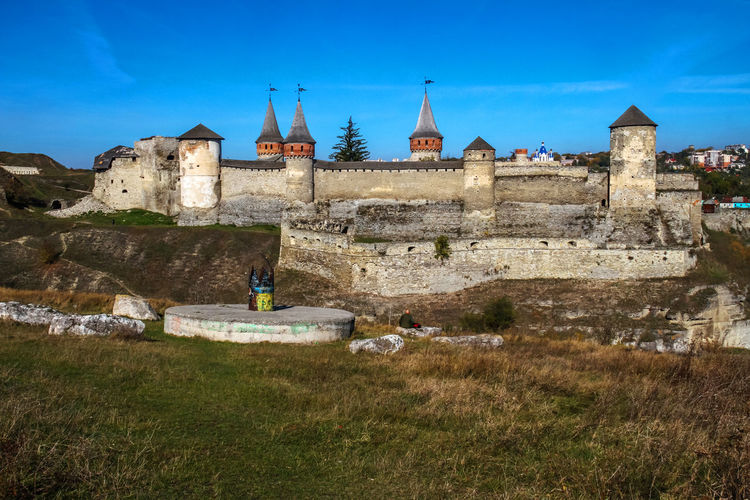 Castle The Week on EyeEm Tourist Attraction  Travel Architecture Building Exterior Built Structure Castle Day Grass History Kamenets-Podolsky Nature No People Outdoors Place Of Worship Sky Tourism Travel Destinations