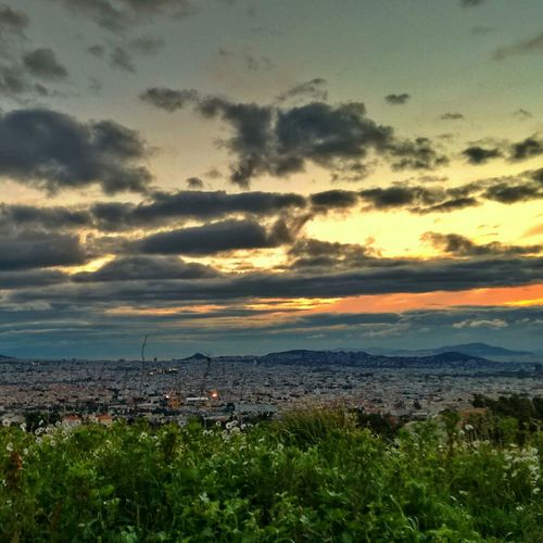 Athens on the brink of spring.