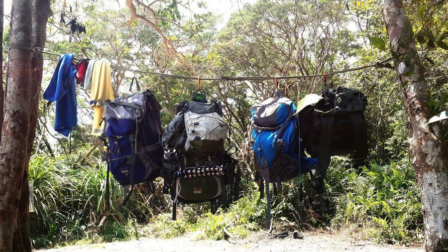 Backpack Blue Backpack Blue Towel Yellow Towel