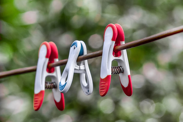 Laundry Line Peg Pegs Pegs, Laundry, Line Creative Photography CreativePhotographer Focus On Foreground Creativity Bokeh Bokeh Photography Still Life Still Life Photography Hanging Red Close-up Clothesline Clothes Laundry Rope