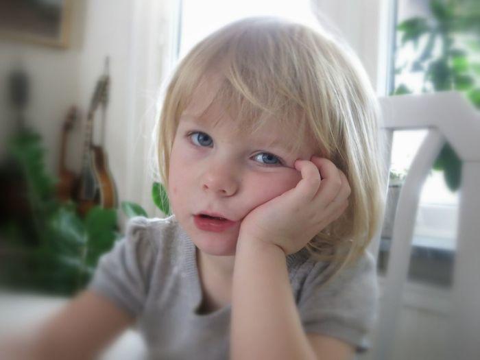 Super Cute Lisa, after having Dinner at her Uncle ☺. Portrait