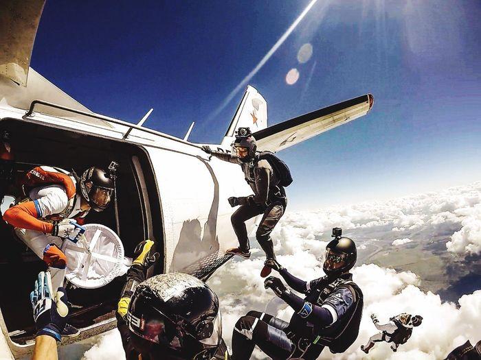 Jointheteem Skyporn Skydiver Skydiver FlyorDie Sky Go Higher