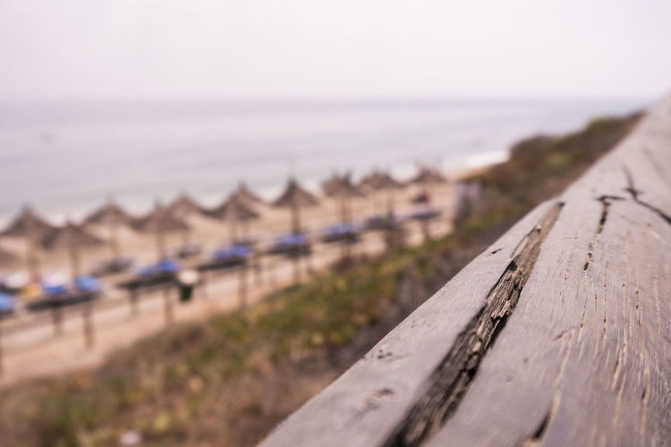 Way to the beach Beach Beachphotography Calm Close-up Day Focus On Foreground Hammock Horizon Over Water Nature No People Ocean Outdoors Relaxing Sand Sea Sky Tranquil Scene Tranquility Vacations Water Wood Wood - Material