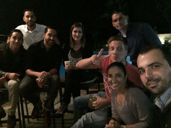Friends Costa Rica Birthday Party