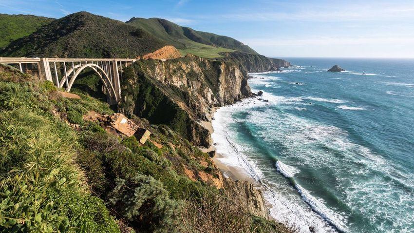 California Highway 1 Road Roadtrip Travel Photography Travel Traveling Sun Followme Beach Shore Ocean Pacific Ocean