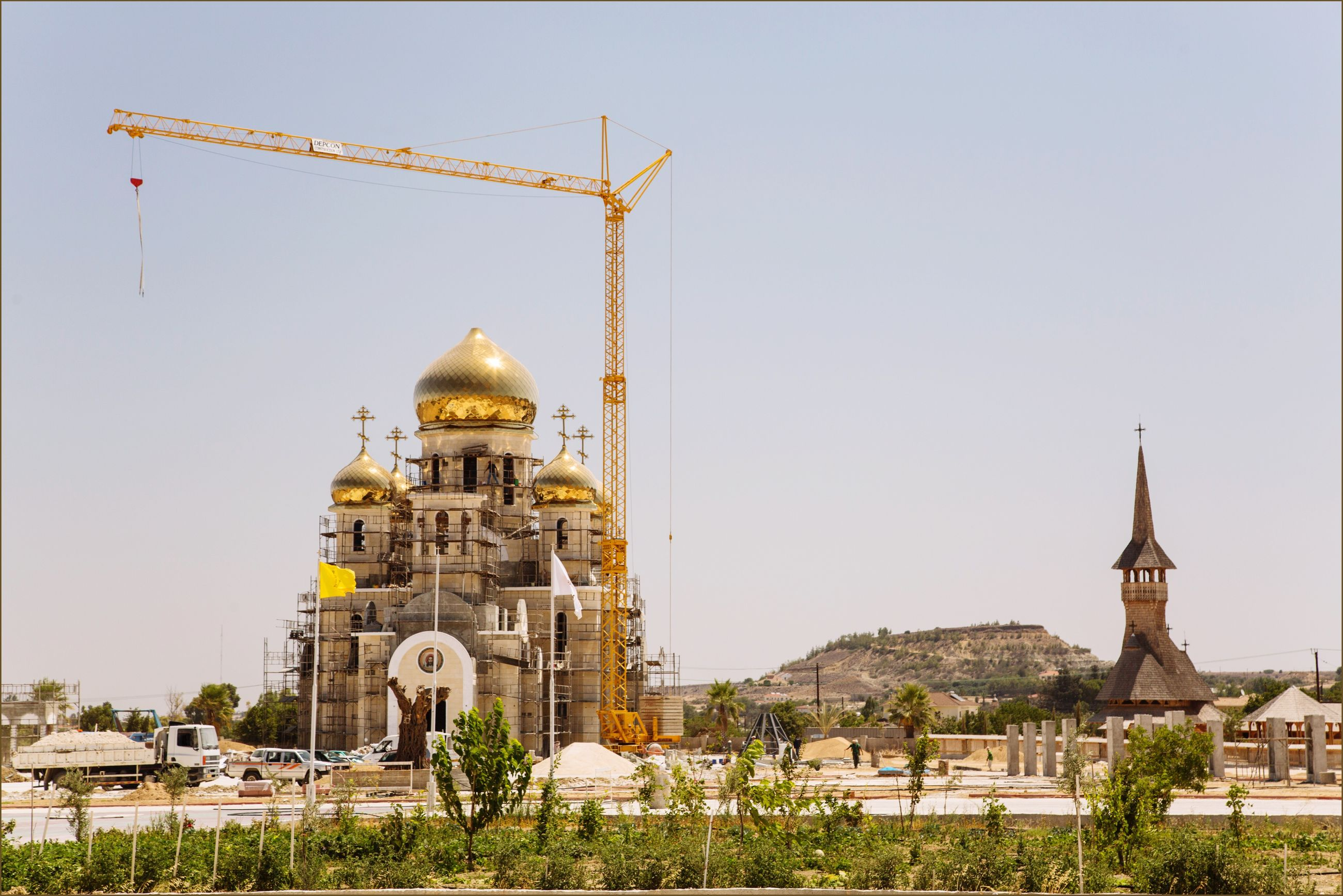 architecture, built structure, building exterior, religion, travel destinations, dome, city, place of worship, sky, cultures, spirituality, no people, outdoors, gold colored, day