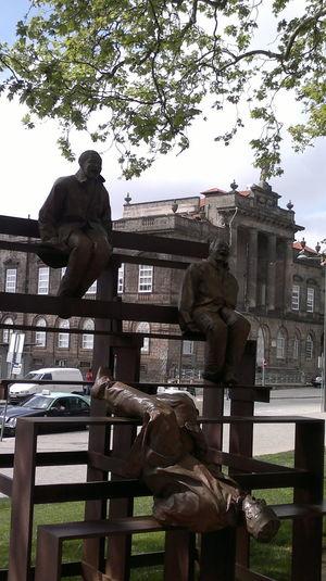 statues on a garden Taking Photos Curiosities Picoftheday