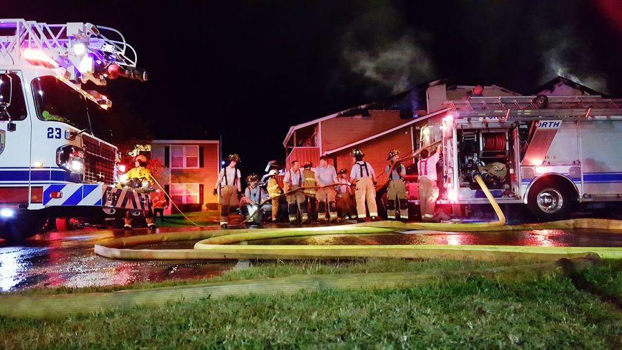Teamwork Firemen Fort Worth