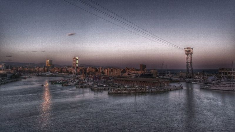 Enjoying The View Evening Sky HDR Cityscape Seaside