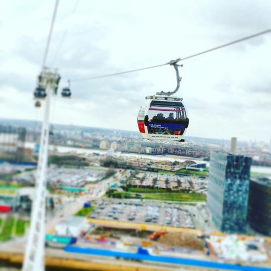 Transportation Mode Of Transport Overhead Cable Car Travel Journey Land Vehicle Selective Focus City Life Cable Cable Car Mountain Sky Day Steel Cable Vacations Tourism Traveling No People Cloud - Sky London EyeEm LOST IN London