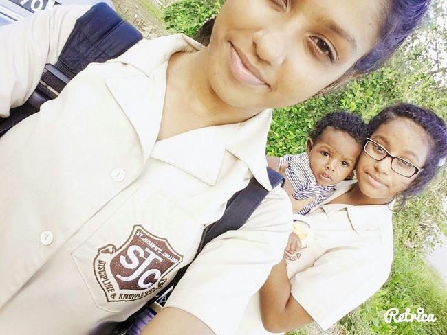 Thalia 😍 Mi Hermana .. Jameel 😍Mi Hermano .. Y Yo 😍Siblings Fuh Life ✊👊👌 Enjoying Life
