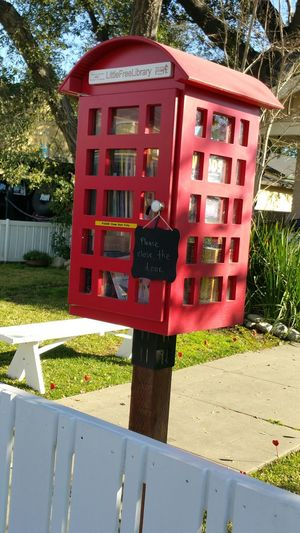 The Purist (no Edit, No Filter) My Street Red Phone Box Library Neighborhood Sharing Information Street Photography Street Reading Great Neighborhood red Showcase: February Free Library Share