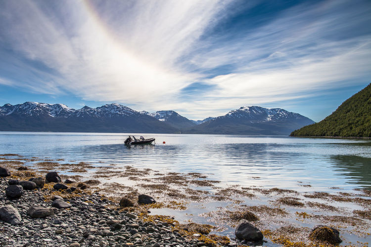 Norway Northern Norway Boat The Traveler - 2015 EyeEm Awards EyeEm Nature Lover Edge Of The World Protecting Where We Play The Adventurer - 2015 EyeEm Awards The Great Outdoors - 2015 EyeEm Awards Nordic Light Landscapes With WhiteWall