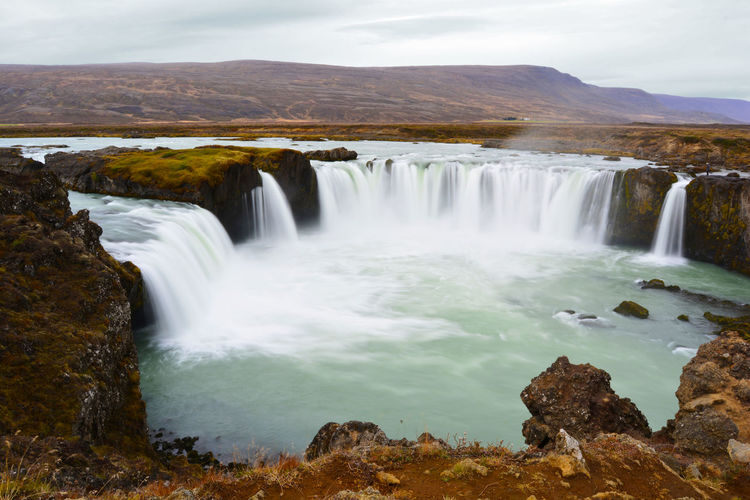 Long exposure of Godafoss near Akureyri, Iceland. Autumn Been There. Done That. Iceland Lost In The Landscape Nature Nikon Travel Beauty In Nature Day Environment Fall Landscape Long Exposure Motion Nature Outdoors Scenics Tranquil Scene Tranquility Travel Destinations Water Waterfall The Great Outdoors - 2018 EyeEm Awards