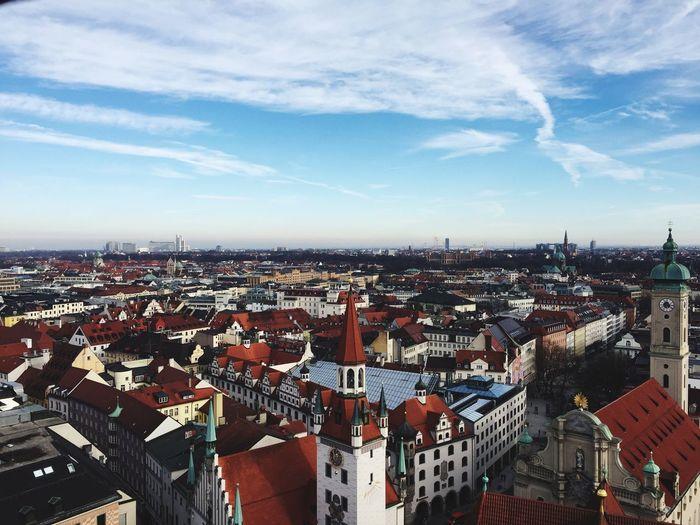 München Marienplatz Deutschland Church Tower City EyeEmNewHere