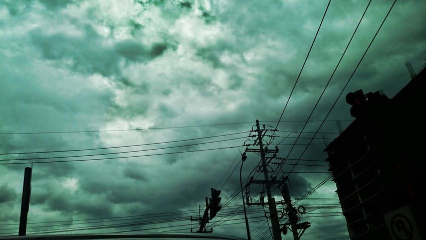 Electricity  Power Supply Power Line  Sky Cable Cloud - Sky Electricity Pylon Nature Fuel And Power Generation No People Power Cable Connection Low Angle View Tree Outdoors Beauty In Nature Water Telephone Pole Day Eyeem Philippines