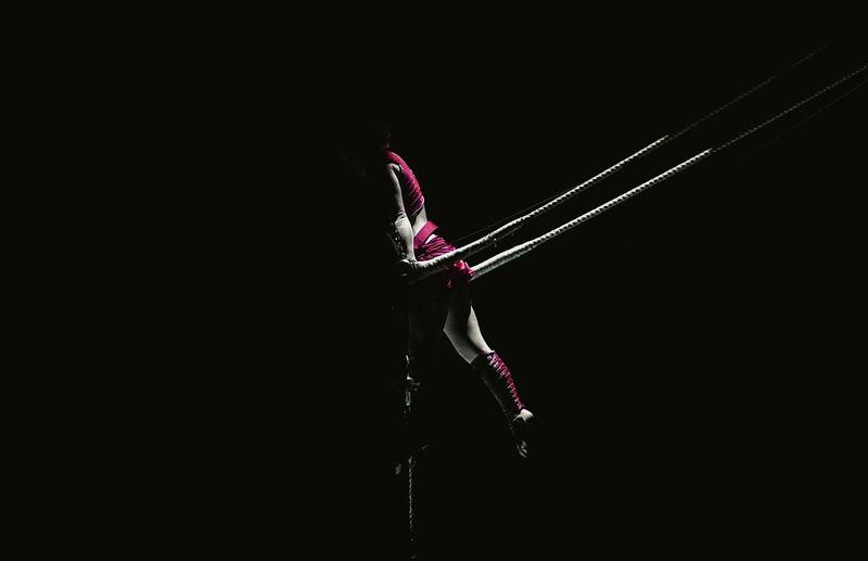 Acrobatics.