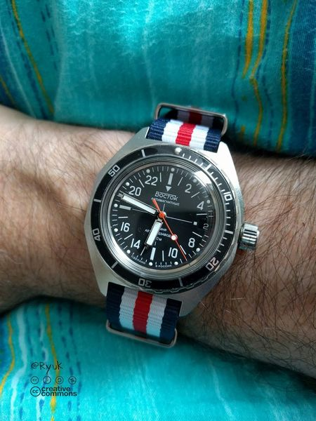 Wristwatch Streamzoofamily TheVille 24 Hours Watch Vostok Boctok Orologio Made In Russia