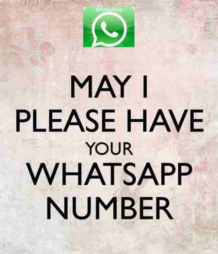 WhatsApp Comment Your Whatsapp Number