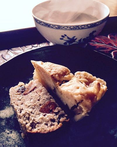 Food And Drink Dessert Cake Baked Homemade Tea Time Rice Flour Apple Kabosu Dried Persimmon Raisins Sweet Food Healthy Eating Organic Countryside Enjoying Life IPhoneography Poundcake Organic Food
