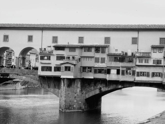 Florence Italy Ponde Vecchio Bridge Old City Building Medival Old Shops Medival City Romantic Europe Trip Bridge Structure Architecture