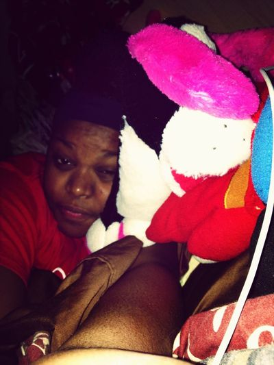 In Bed W/ My Bears! ❤