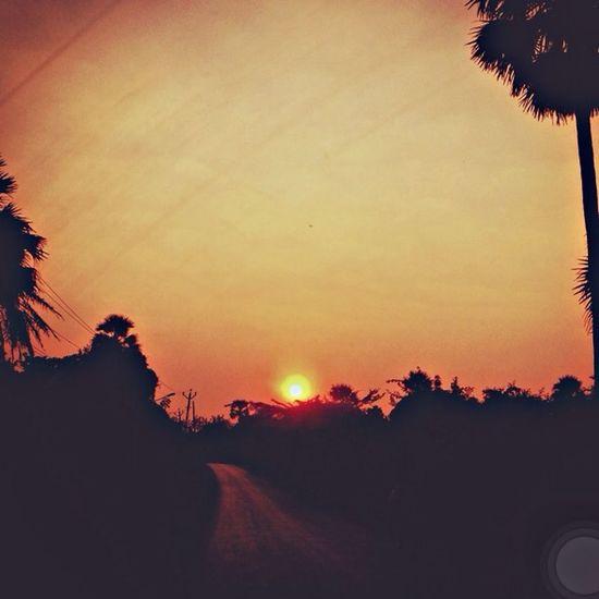 Sunset Sunset_collection Orange Kishan23fiba Taking Photos Hanging out