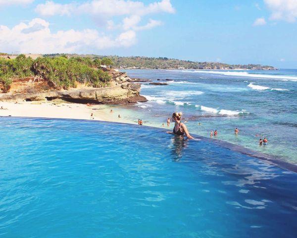 Bali Lembongan Island Beach Sea Water Vacations Dreambeach