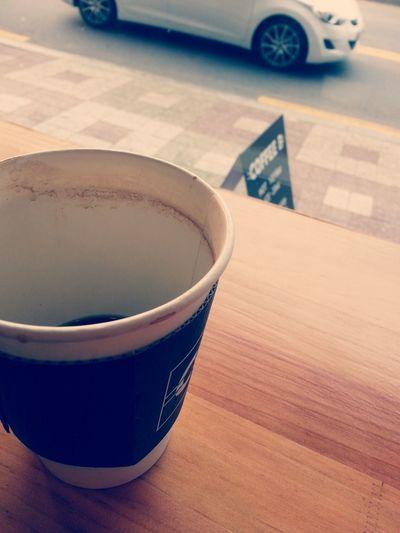 local coffee shop. I Love Hot Coffee. Relaxing Coffee Caffì¬ Americano Enjoying Life