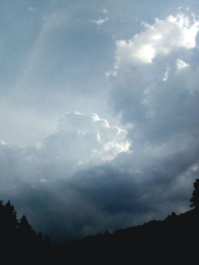 Nature Sky No People Cloud - Sky Storm Cloud Beauty In Nature Scenics Landscape Tree Outdoors Day Power In Nature