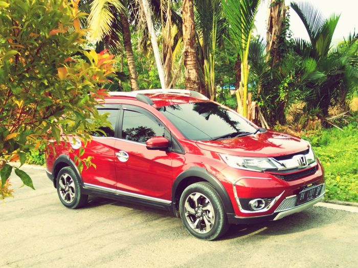Honda BR-V Car Passion Red Pearl No People Visitsouthnias