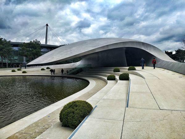 Autostadt Porsche Design Built Structure Outdoors Architecture Germany🇩🇪 EyeEm Germany GERMANY🇩🇪DEUTSCHERLAND@ Beatiful Place