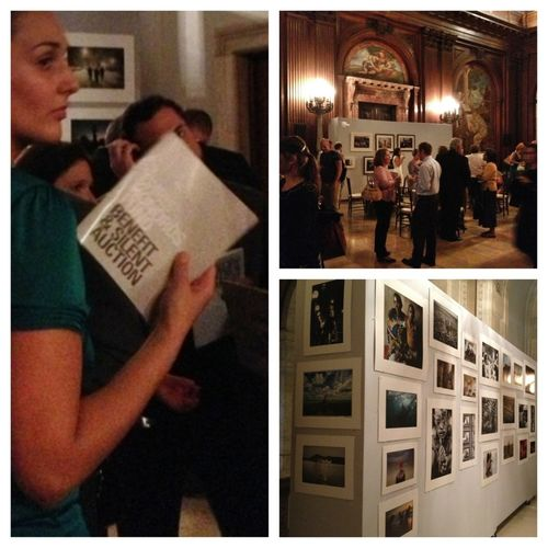 A great turn out for the Chris Hondros Fund Benefit and Online Auction. #ChrisHondros