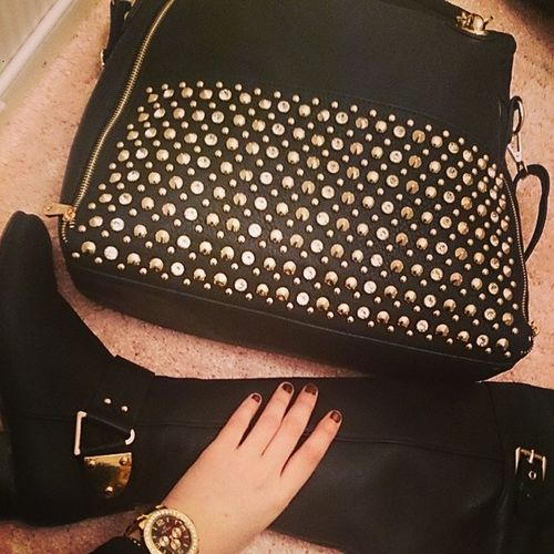 My new bag and clock ? Chanel Belle Kristebell KB