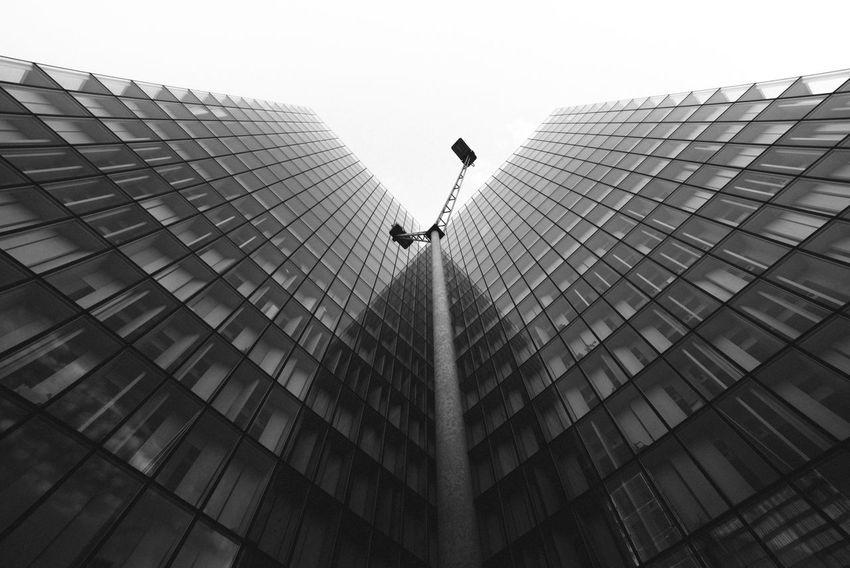 Architecture Bibliothèque Nationale De France Blackandwhite Building Exterior Built Structure City D750 Geometry Low Angle View Modern Monochrome Nikon Nikonphotography Samyang 14㎜ ƒ/2.8G