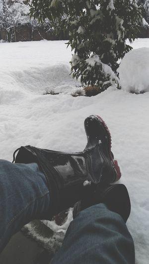 snow snd boots