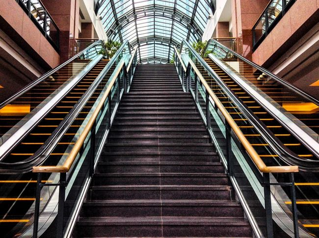 Stair way to the skies.